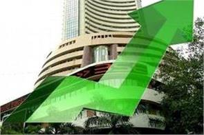 markets sensex climbs 435 points on record high