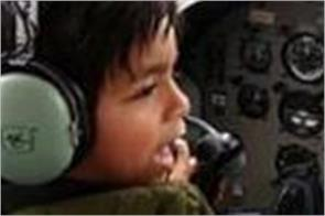 youngest piolet in britain  7 year old child flying plane