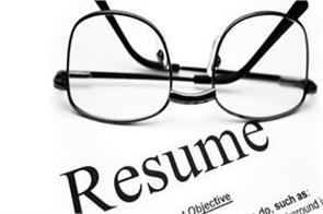 do not make mistakes when creating a resume