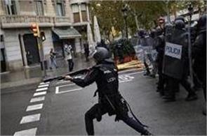 spain  violence  injured catalonia  referendum