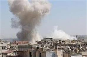 syria police station attack 15 dead