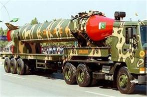 pakistan  s nuclear weapons can be a major threat  nuclear war  report