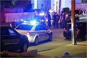 shootout in church of south taxas america
