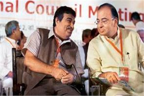 jaitley says gadkari humbly no