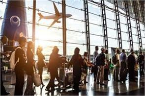 domestic air travelers crossed the 1 million level in october