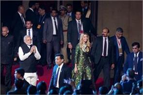 ivanka attend gala dinner at falaknuma palace in hyderabad