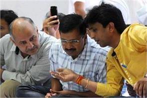 aam aadmi party arvind kejriwal kumar vishwas yogendra yadav
