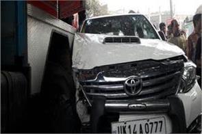 bjp mp sakshi maharaj accident survivors