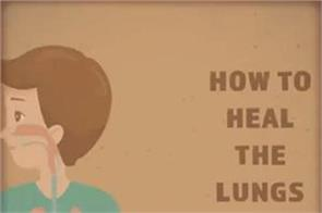 how to heal the lungs naturally