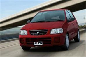 maruti suzuki alto best selling car in october