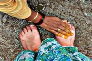 you can change your destiny even by touching someones feet