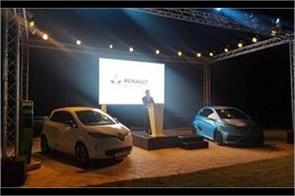 renault launches its new electric car zoe 40