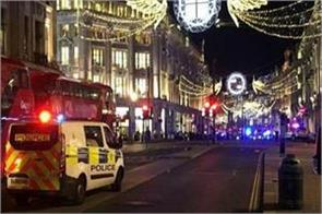 firing at london oxford circus station fear of terrorist incident