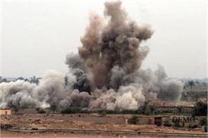 israel attacks on syrian military base
