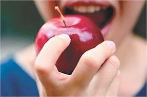 students will be able to eat fruit during the examination