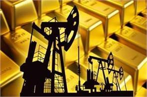 slowdown in crude oil even pressure on gold