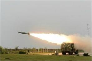 successful test of supersonic missile akash