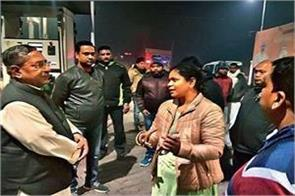 second time looted the petrol pump
