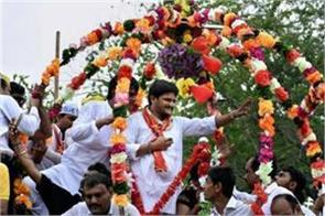 hardik patel did road shows without the permission of the administration