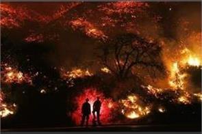 california fires  blaze threatens santa barbara and prompts evacuation