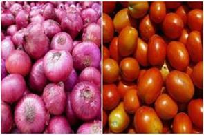 people will get relief  onion and tomato prices fall