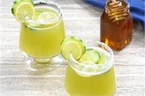 yum recipe healthy cucumber lemonade