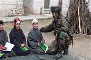 army took the responsibility of poor family