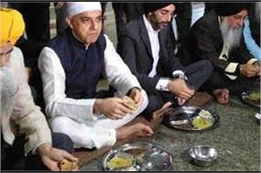 the first muslim mayor reached shri harmandir sahib