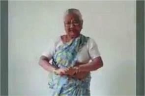 you will also be surprised to see this elderly woman dance