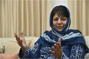 mehbooba reelected party president