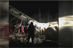 plane crashes in saskatchewan with 25 people on board