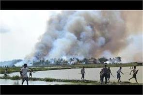 40 more rohingya villages burnt in myanmar