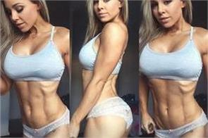 stephanie sanzo is rising to fame on instagram for figure