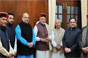 himachal of these mp did modi shah to meet