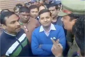 fight of ias officer and inspector