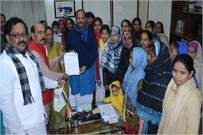 delegation of muslim women meeting with cm