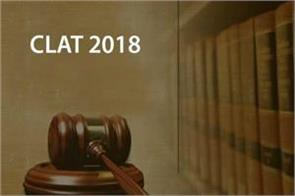 notification for clat 2018  applications starting january 1