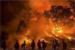 us heavy fires in california