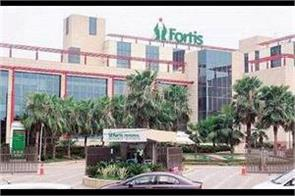 license cancelled of fortis hospital blood bank
