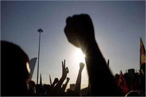 protest against jda in gujjar nagar