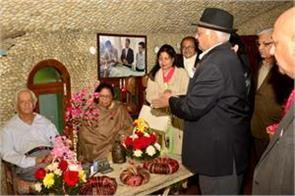 neckchand  s birth anniversary is celebrated in rock garden