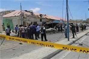 suicide attack in somalia 17 police officers death
