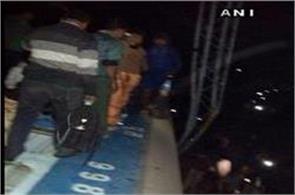 near jagdalpur bhubaneswar orissa hirakhand 8 coaches derailed express train