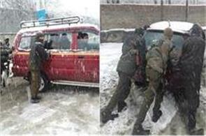 exam postponed in kashmir university due to snowfall