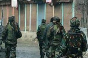 let terrorist killed in an encounter with police and security forces