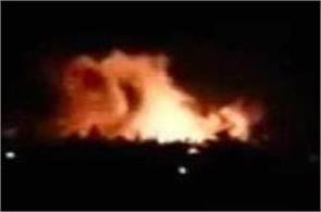 israel fires rockets at air base near damascus