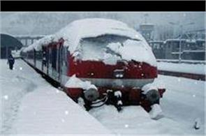 train service resumed in kashmir