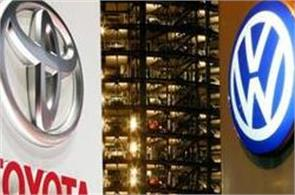 toyota sold 10 2 million vehicles worldwide  fewer than vw
