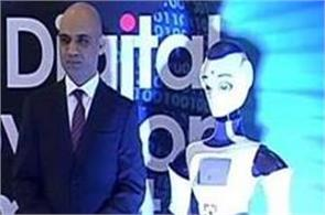 hdfc bank launches ira  the interactive humanoid