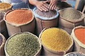 in the absence of demand selected commodities fall